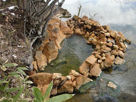 2010年3月 屈斜路湖湯巡り 奥の湯⑨