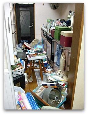 キッチン大掃除中