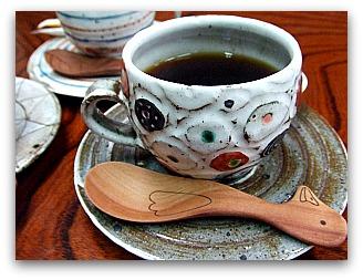 ひさご旅館 朝食 コーヒー