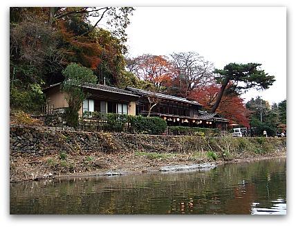 保津川下り  嵐山へ到着