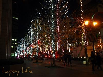 2011 12月 御堂筋