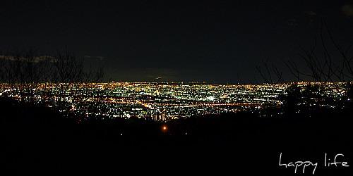 五月山 夜景