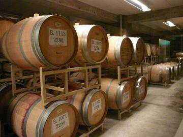三次ワイナリー ワイン貯蔵庫