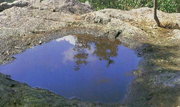 黒瀬町の手洗鉢岩