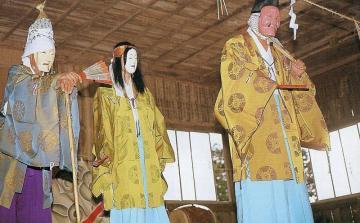 豊栄町の豊栄神楽五行祭