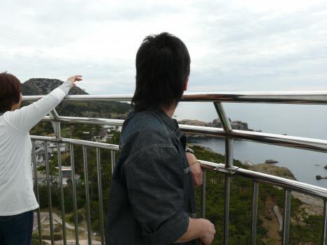 日御碕灯台からの風景 その2