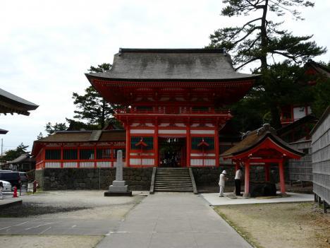 日御碕神社正面