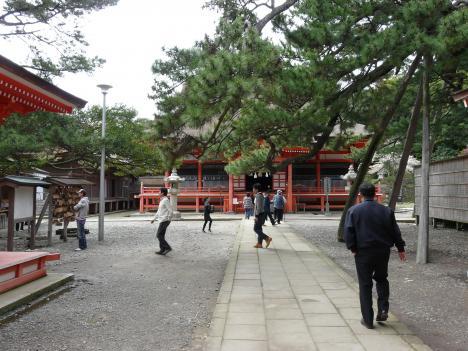 日御碕神社境内