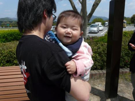 小谷サービスエリア(下り線) 悠太郎の甥っ子