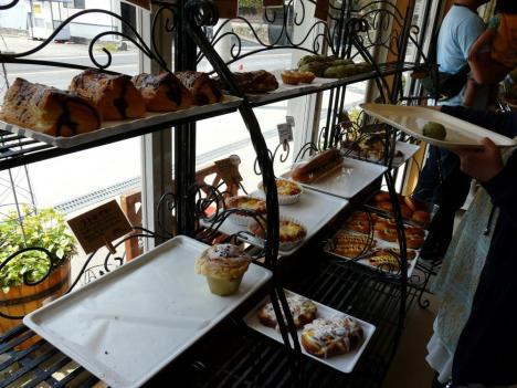 豊栄町のRural boulanger(リュラル ブーランジェ) 店内 その1
