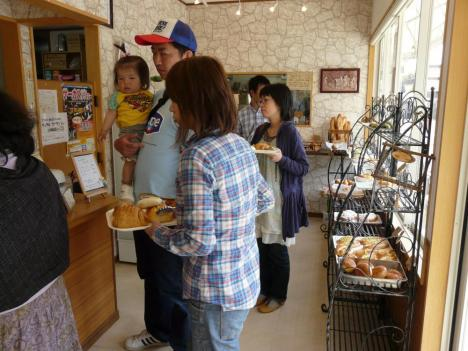 豊栄町のRural boulanger(リュラル ブーランジェ) 店内 その2