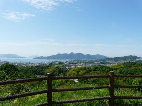 山陽自動車道路 宮島サービスエリア(下り線) その3 展望台 景色