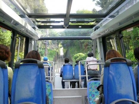 福岡県北九州市 皿倉山 その4 ケーブルカー 景色