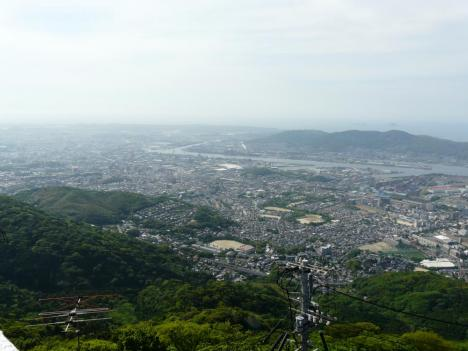 福岡県北九州市 皿倉山 その6 山頂 景色