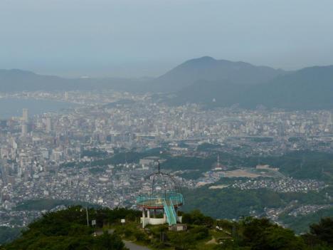 福岡県北九州市 皿倉山 その7 山頂 景色