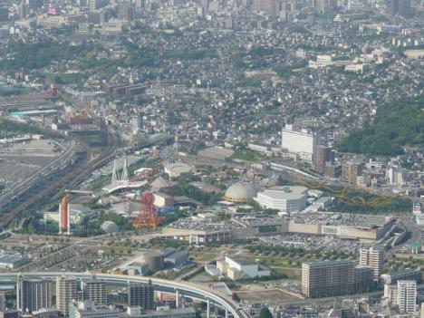福岡県北九州市 皿倉山 その6 山頂 景色 スペースワールド