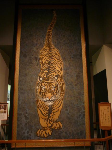 小倉城 迎え虎