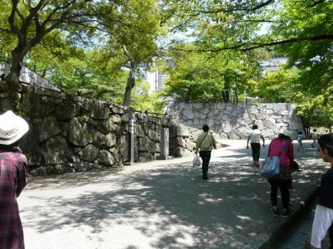 小倉城 場内風景