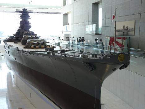 呉市 大和ミュージアム 戦艦大和 1/10 模型 その1