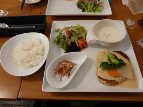 京の豆腐ハンバーグランチ