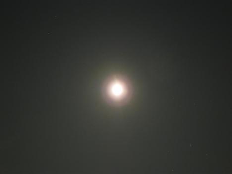 明るすぎるお月様 その2
