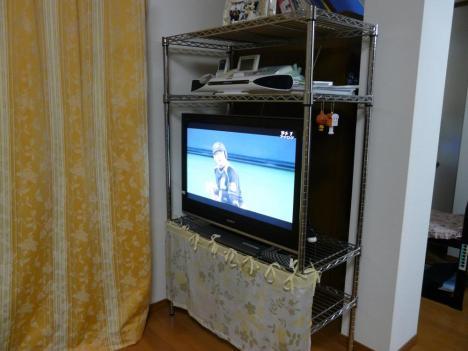 我が家のテレビ