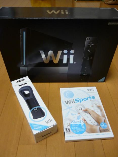 任天堂 Wii (黒)