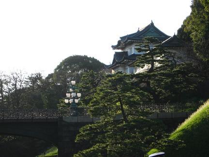 皇居にて 3