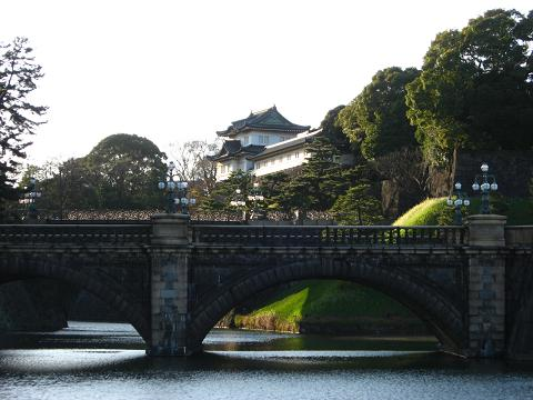 皇居にて 2