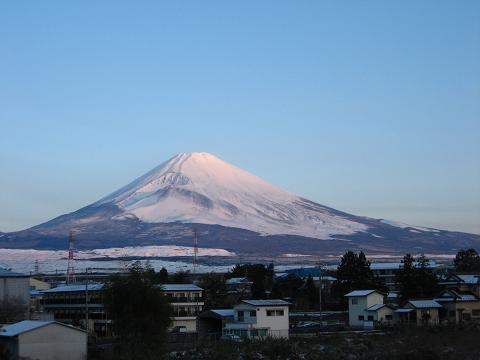 3月30日の富士山