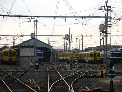 雲州平田駅にて