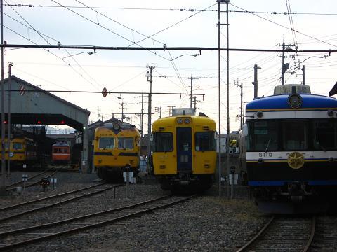 雲州平田駅にて2