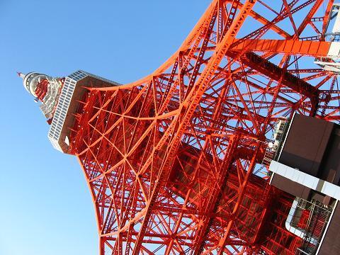 東京タワーにて 4