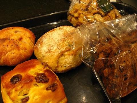 プチメック新宿のパン