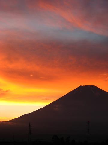 梅雨明けの富士山 2