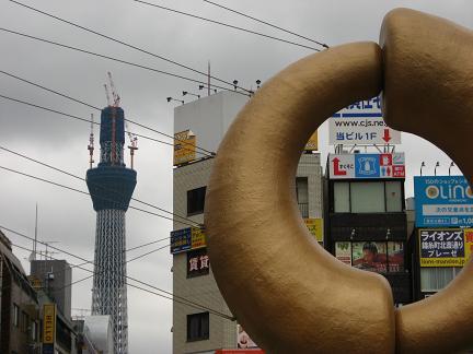 錦糸町駅からスタート