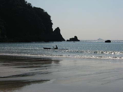 弓ヶ浜にて