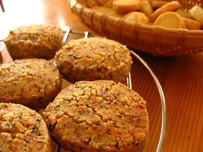 胡桃と紅茶のクッキー