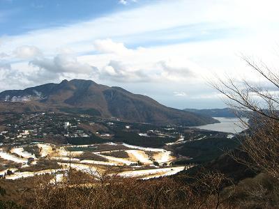 長尾峠からの眺め