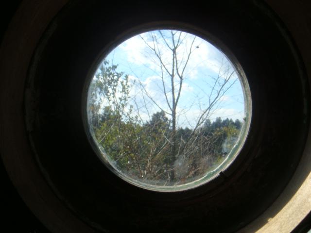 丸窓の風景