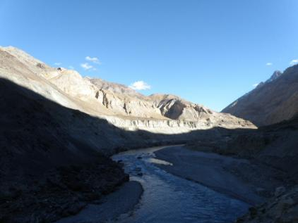 Zanskar Tsangpo at Chiling