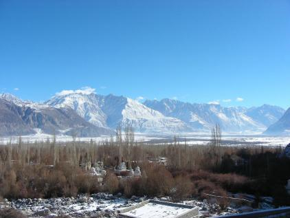 Nubra from Hundar