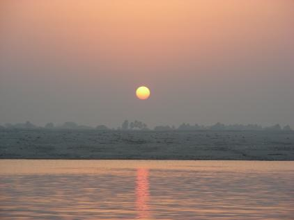 varanasi morning sunrise
