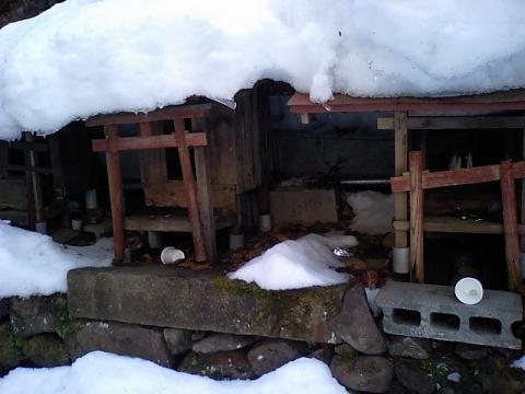 白糸神社14;北向稲荷