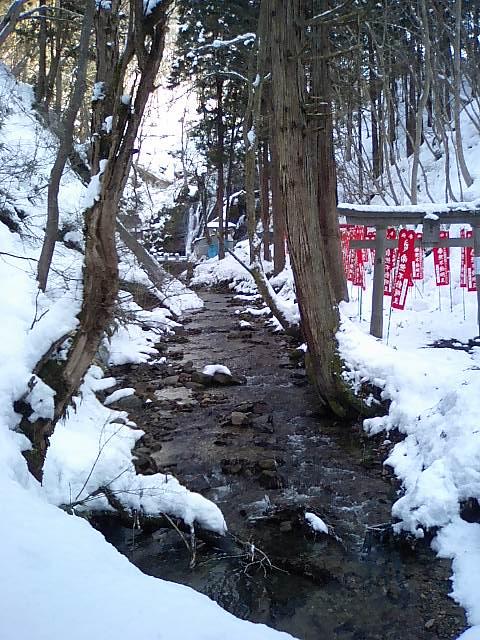 白糸神社7;不動川