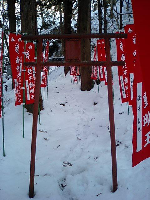 白糸神社10;参道の4つ目の鳥居