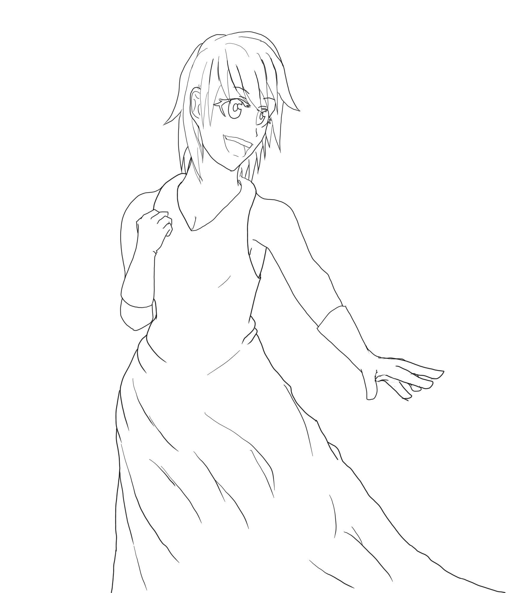 ドレス女2