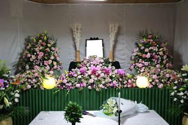 自宅葬花祭壇3201