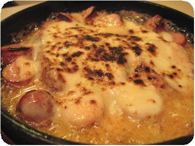 明太チーズポテト焼き