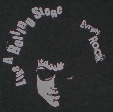 EverydayRock T Shirt Bob Dylan Caricature